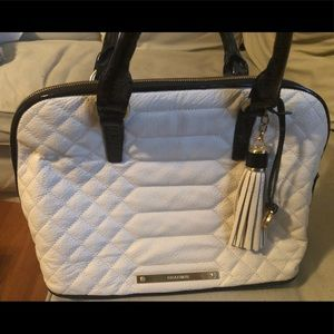 Brahmin black and white pocketbook. No strap.